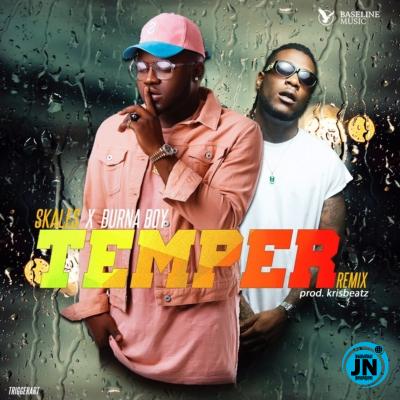 Skales – Temper (Remix) (Instrumental) ft. Burna Boy